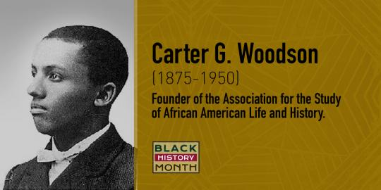 Carter G. Woodson, Founder of the Association for the Study of African American Life and History