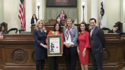 Assemblymember Buffy Wicks Honors AD 15 Woman of the Year - Dr. Rowena M Tomaneng